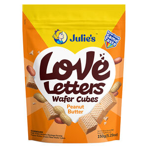 love letter wafer cubes-peanut butter