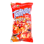 Tattoos Corn Tube Pizza, , large