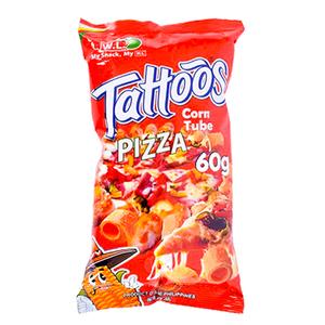 Tattoos Corn Tube Pizza
