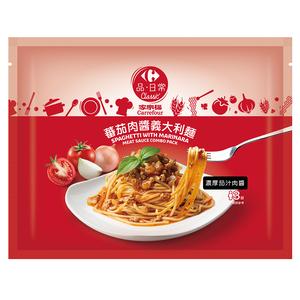 家樂福蕃茄肉醬義大利麵1080g
