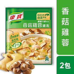 【康寶】康寶濃湯自然原味香菇雞蓉36.5 G
