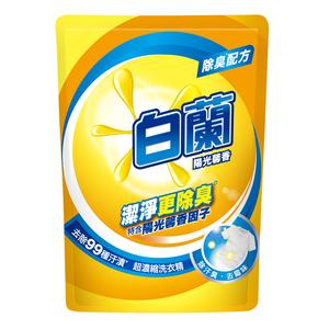 白蘭陽光馨香超濃縮洗衣精補包1.6 Kg