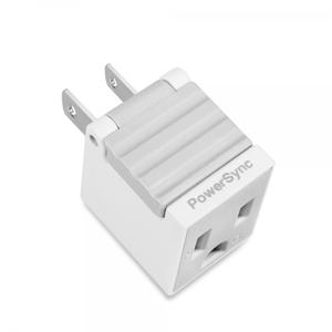 群加3P轉2P省力型電源轉接頭(顏色隨機出貨)