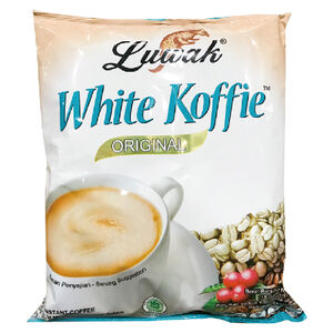 Luwak 三合一即溶白咖啡(原味)20gx18