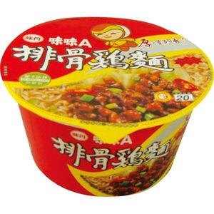 味味A小排骨雞麵(碗)90g