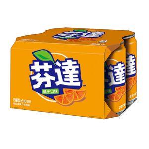 芬達橘子汽水330ml