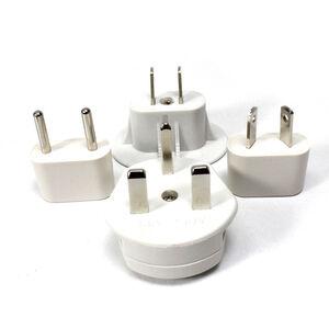 群加多國電源變換插頭組4合1