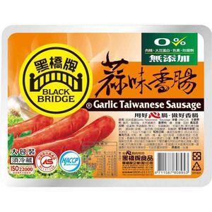 黑橋牌蒜味香腸(大包裝)-290g