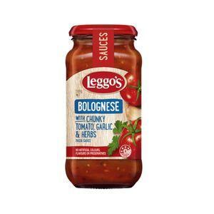 Leggos Bolognese Pasta Sauce Chunky