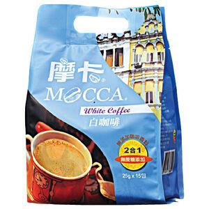 摩卡二合一白咖啡