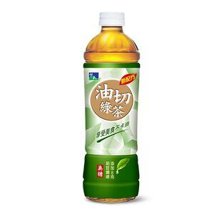 悅氏油切綠茶550ml