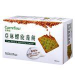 C-Flax Seed  Spirulina Cracker, , large