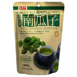 盛香珍綠茶南瓜子-140g