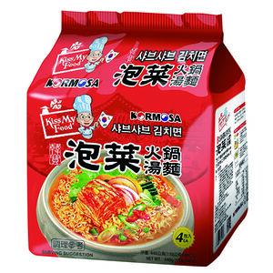 KORMOSA泡菜火鍋湯麵(包)110g