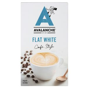Avalanche Caf Style Flat White