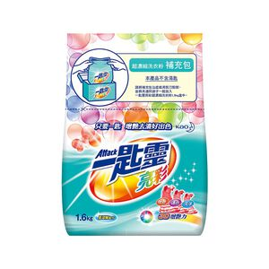 Attack color powder detergent refill