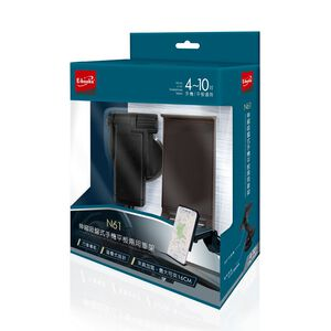 E-books N61 伸縮吸盤式手機平板車架