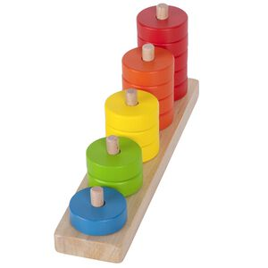 Counting and stacing toy