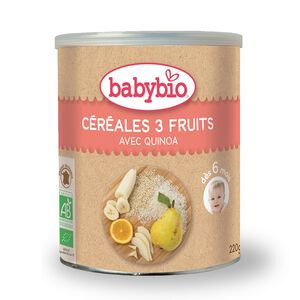 Babybio Organic Fruits Cereals