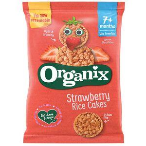 Organix生機寶寶草莓米餅(7M)