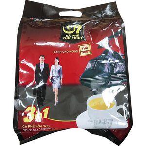 G7三合一即溶咖啡50入(袋裝)