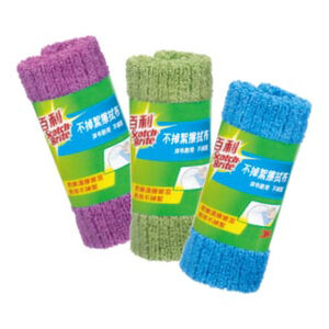 Lint free microfabric cloth