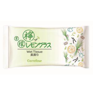 家樂福香氛柔濕巾-檸檬草