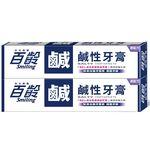 百齡 鹹性牙膏(無氟), , large