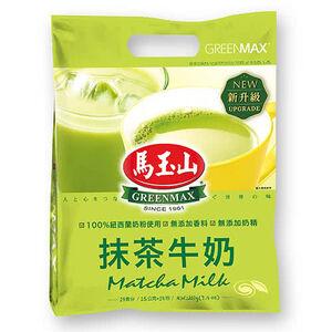 馬玉山抹茶牛奶 15克x14