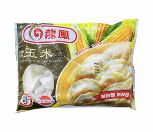 龍鳳冷凍玉米豬肉水餃-912g