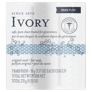 Ivory Bar Soap-3 p