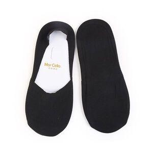 瑪榭深口腳尖補強襪套 L-黑色