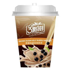 Brown Sugar Jelly Bubble Milk Tea