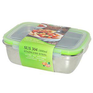 SUS304 food box1800ml