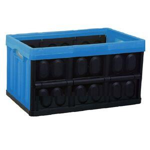 黑格子折疊收納箱