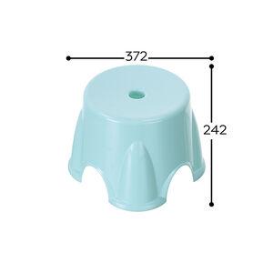 Q3-1237 中歐雅圓椅-顏色隨機出貨