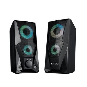KINYO US-252 USB2.0觸碰炫光音箱
