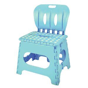 麗緻專利折疊椅藍