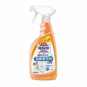 魔術靈高密泡馬桶清潔劑(噴槍瓶)柑橘消臭500ml