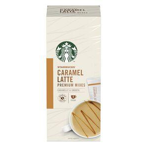 星巴克特選系列-焦糖風味拿鐵咖啡21.5x4