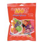 一百份綜合水果味QQ軟糖, , large
