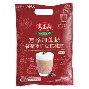 馬玉山無添加蔗糖紅藜麥紅豆核桃飲30gx12
