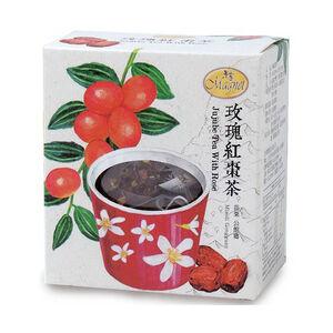 曼寧台灣花草茶-玫瑰紅棗茶3g X15