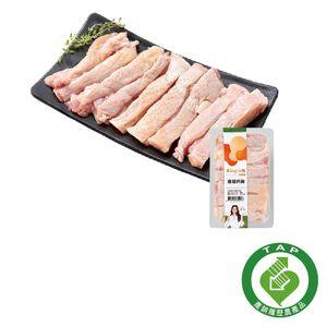 產銷履歷冷藏雞腿肉條(約250克)-貼體包裝※本商品保存期限為7天,因配送關係到府後使用期限3天