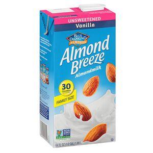 Almond Breeze unsweetened vanilla