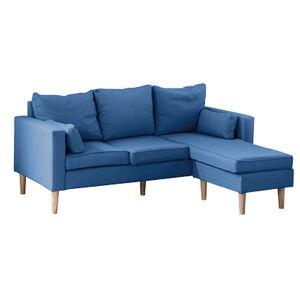 Classic L-shaped sofa group