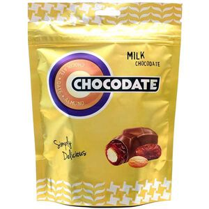 杜拜Chocodate椰棗杏仁果牛奶巧克力短效期,最長期限至2022-01-27