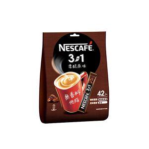 雀巢咖啡三合一濃醇原味42入