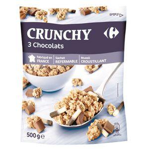 C-DOYPACK 3 Chocolates Crunchy