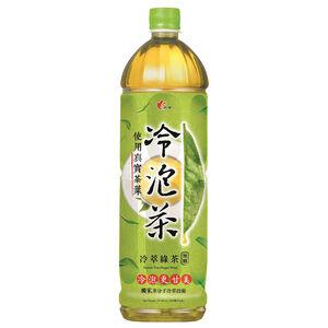 光泉冷泡茶冷萃綠茶無糖-1235ml